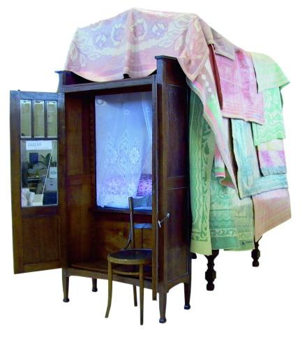 Jurgen Bey 's 2002 'Linen-Cupboard House'