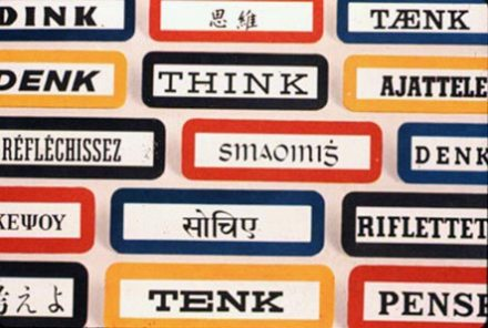 Think in different languages but one voice - IBM's