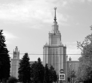 Moscow State University designed by Lev Vladimirovich Rudnev 1949-1953 (Source: author's photograph).