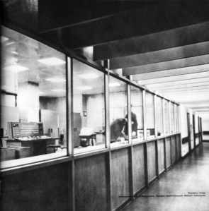 Państwowa Komisja Planowania (State Planning Commission),Warsaw,  late 1960s from Polska Sztuka Uzytkowa w 25-lecie PRL