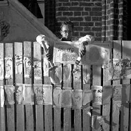Indulis Gailāns' 'Fence Action' , Riga, 1984