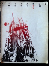 Cover of Výtvarné Uměni, issue 8-9, 1967.