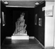 'New Art at the Time of the October Revolution' exhibition, Współczesna Gallery, Warsaw, November 1967- during installation.