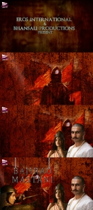 "Four stills from the motion poster promoting ""Bajirao Mastani"", a Bollywood movie 2015."