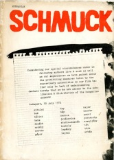 'Hungarian_ issue of Schmuck